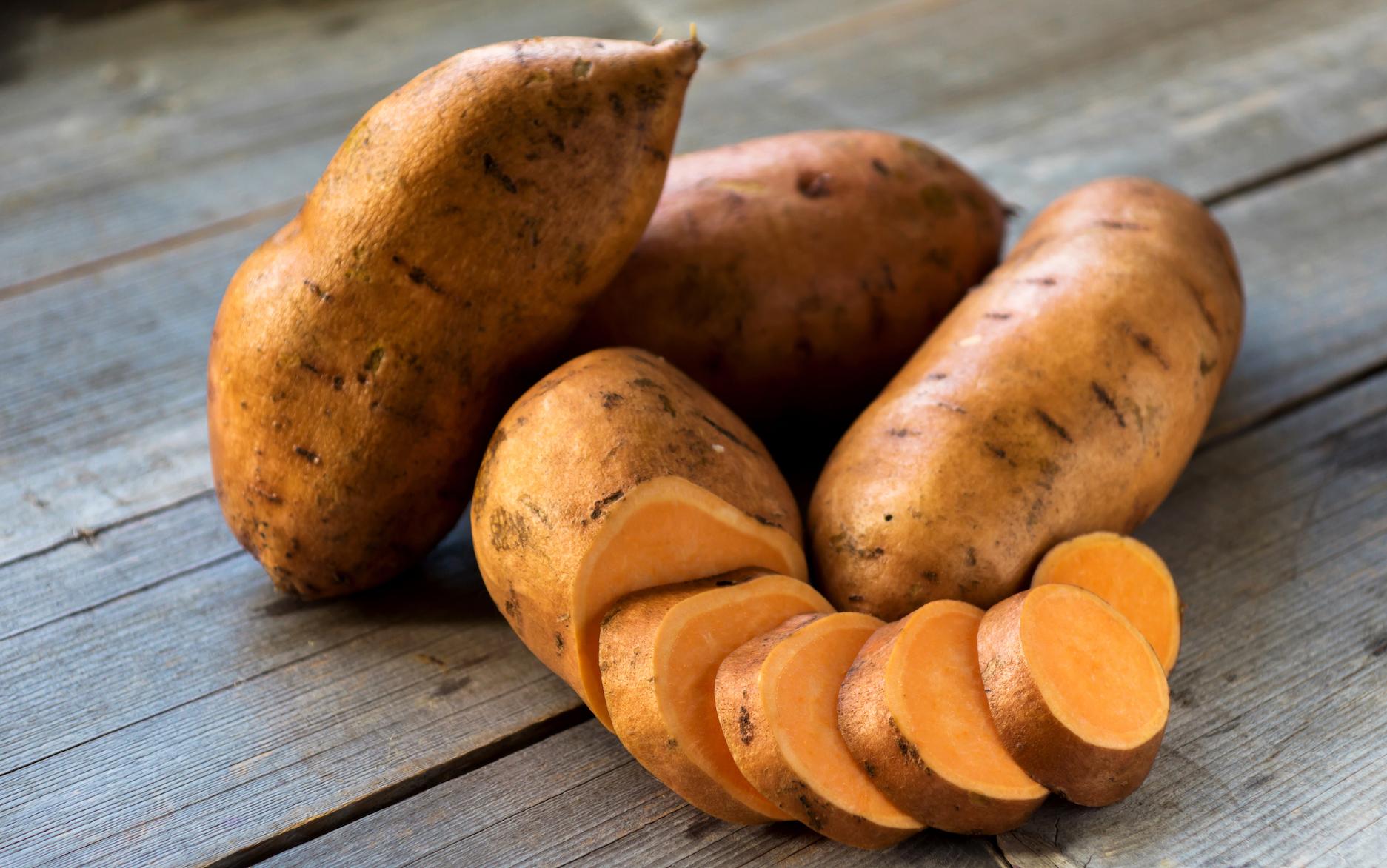 فوائد البطاطا الحلوة للحامل